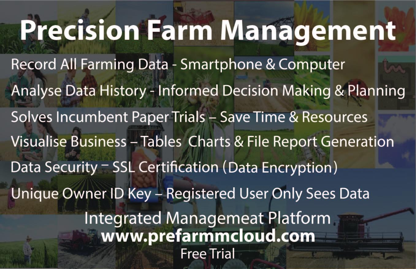 Precision Farm Management