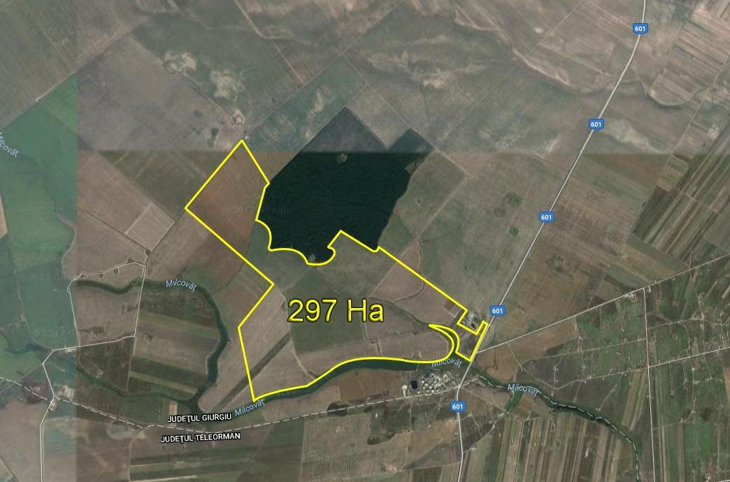 Romania -arable land for rent. Ref R07